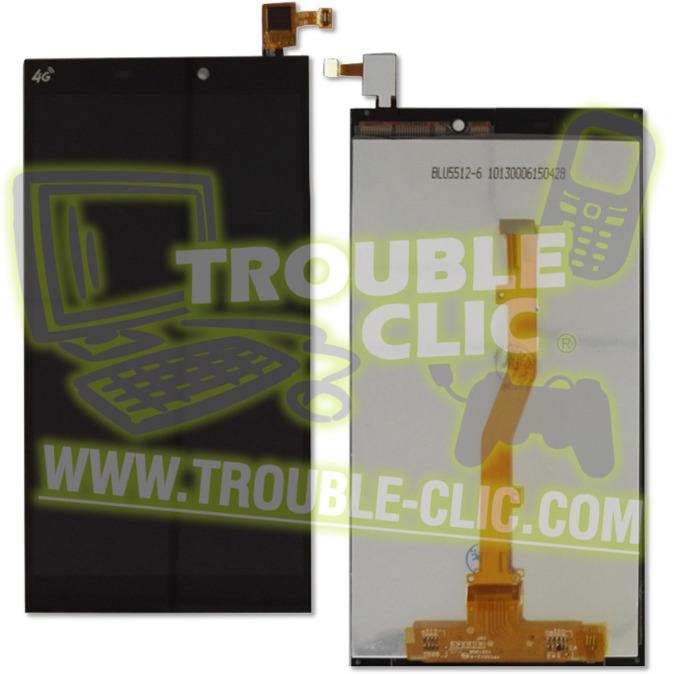 acheter pour r parer ecran tactile noir lcd de remplacement pour alcatel one touch m823 orange. Black Bedroom Furniture Sets. Home Design Ideas