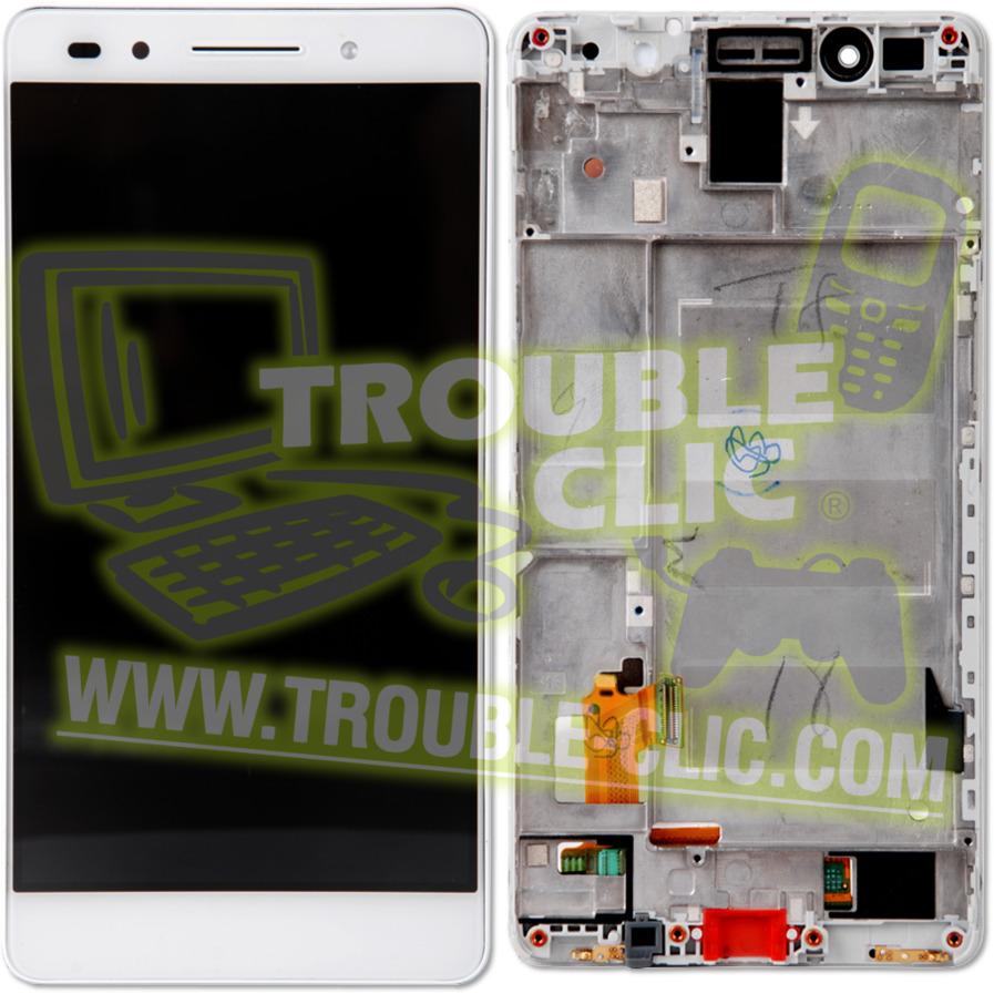 Acheter pour r parer ecran tactile lcd blanc avec for Photo ecran honor 7