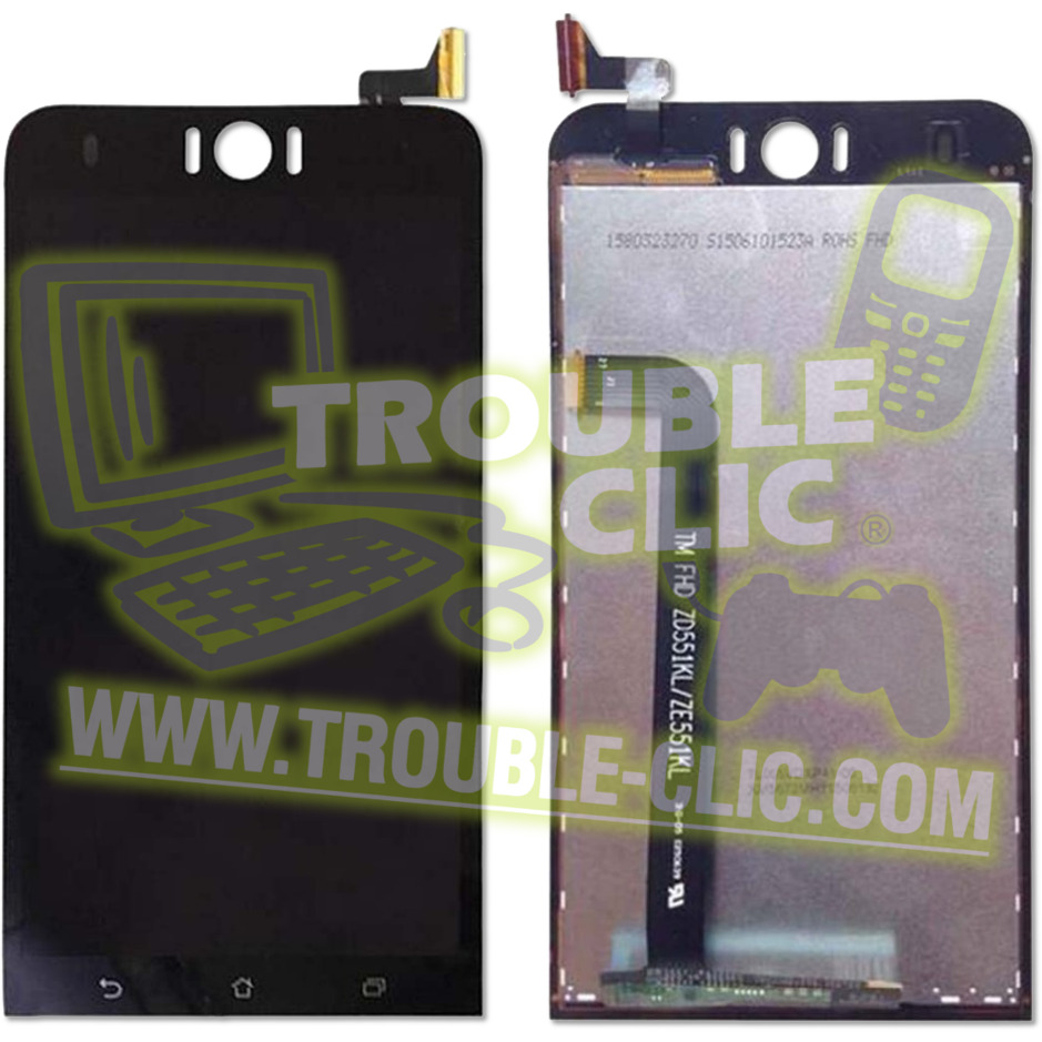 Ecran Tactile Noir LCD De Remplacement Pour Asus Zenfone Selfie ZD551KL ZED551KL