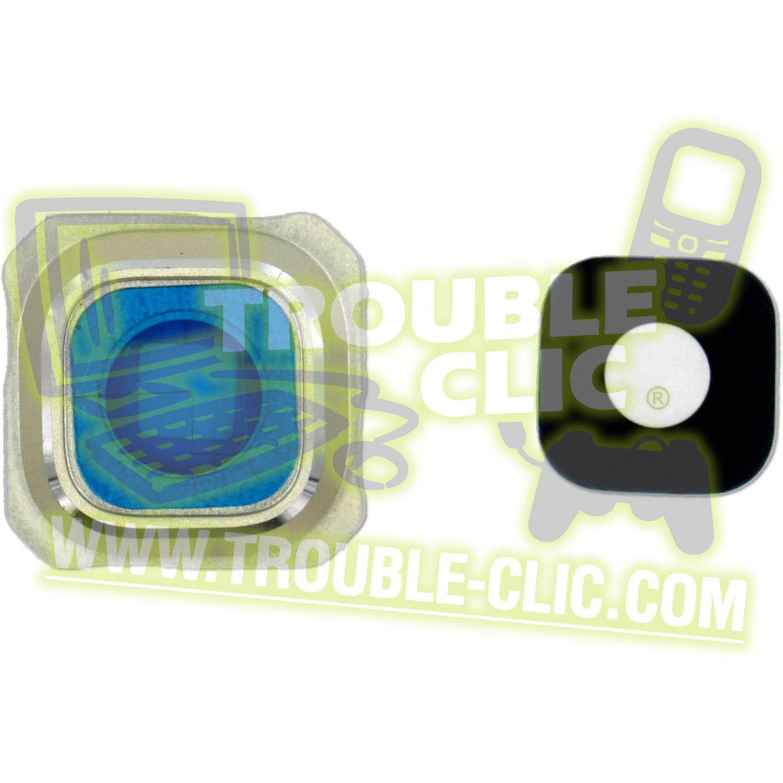 acheter pour r parer lentille vitre en verre dor e de remplacement pour cam ra samsung galaxy s6. Black Bedroom Furniture Sets. Home Design Ideas