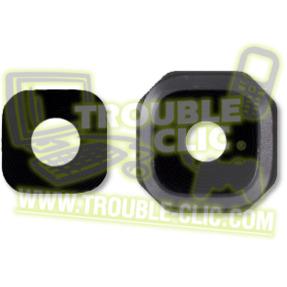 acheter pour r parer lentille vitre en verre noire de remplacement pour cam ra samsung galaxy a5. Black Bedroom Furniture Sets. Home Design Ideas