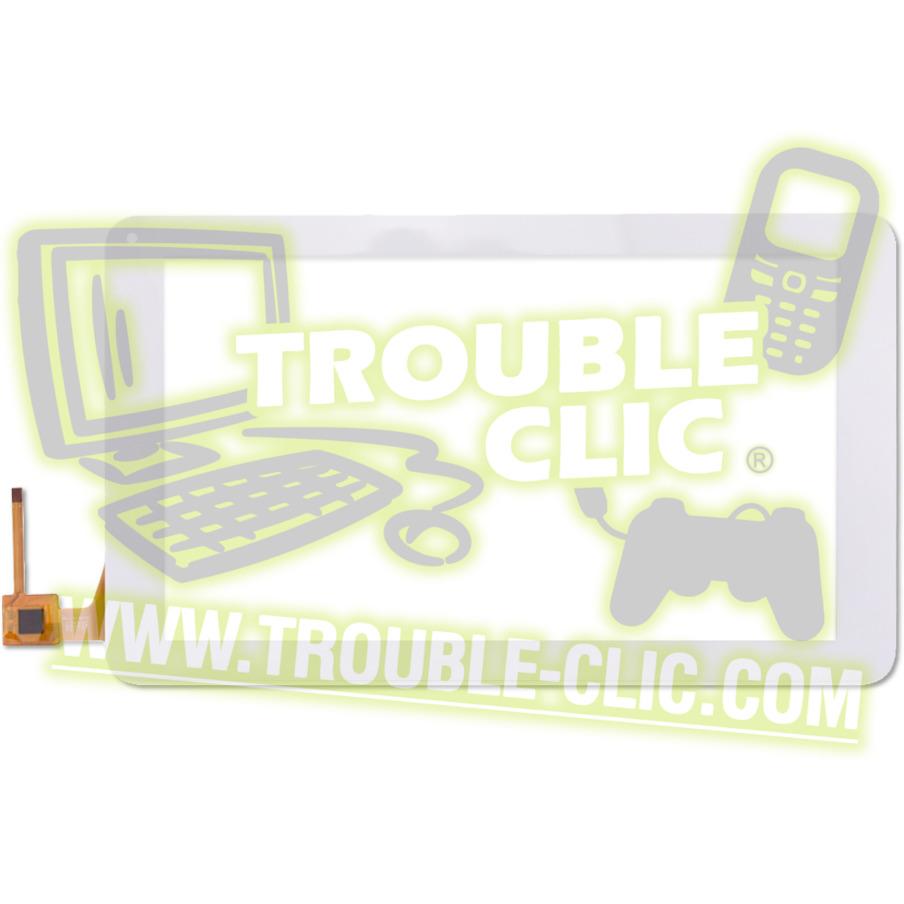 acheter pour r parer ecran tactile blanc de remplacement pour tablette archos 101c neon. Black Bedroom Furniture Sets. Home Design Ideas