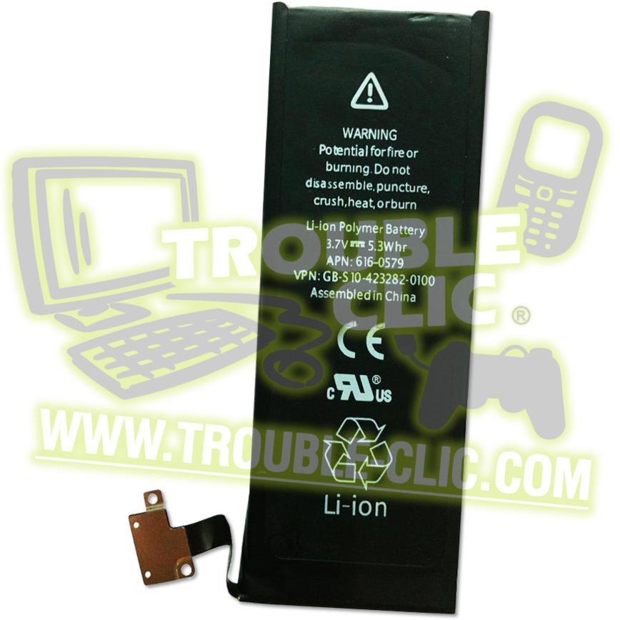 acheter pour r parer batterie de rechange pour iphone 4s trouble clic. Black Bedroom Furniture Sets. Home Design Ideas