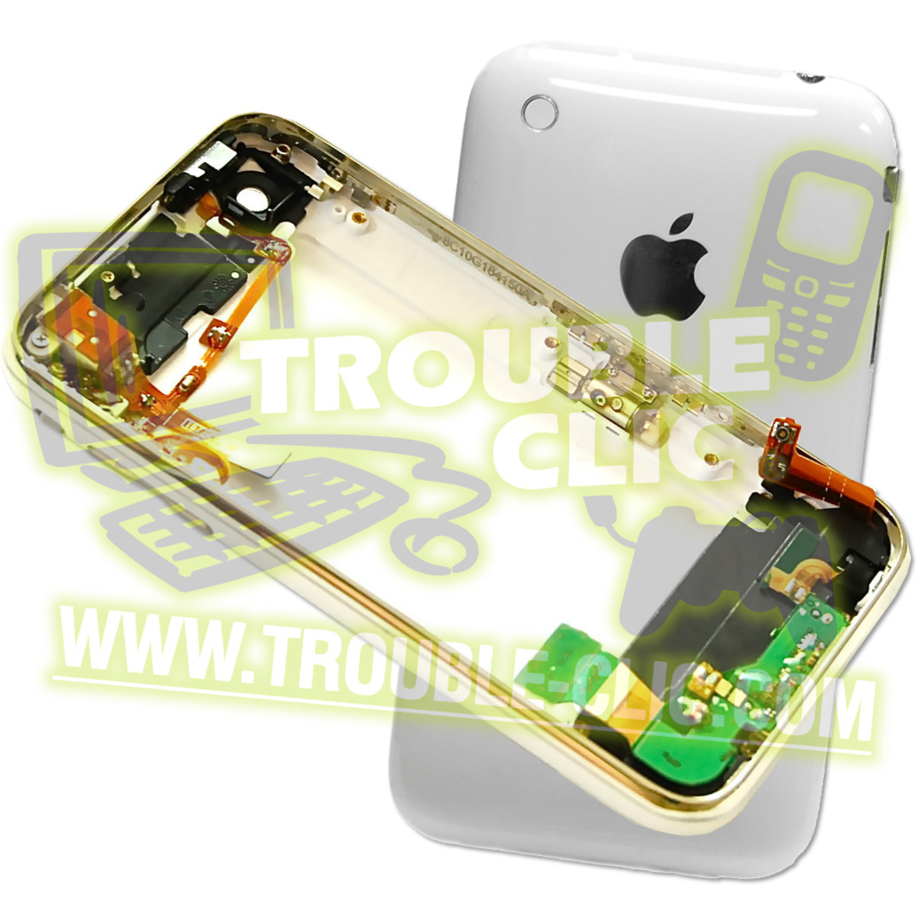 652 1 2000 coque arriere complete iphone 3g blanc