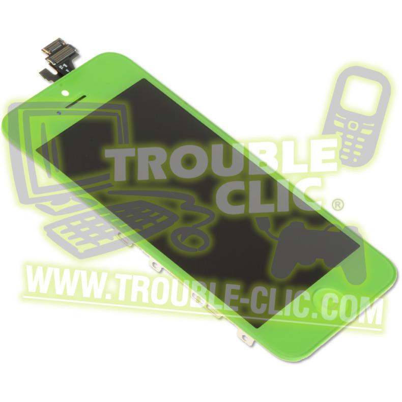 acheter pour r parer ecran lcd et vitre tactile assembl s de rechange pour iphone 5 vert. Black Bedroom Furniture Sets. Home Design Ideas